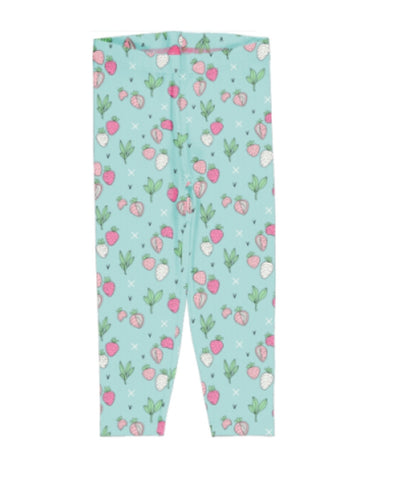 Meyaday Strawberry Fields Leggings Cropped