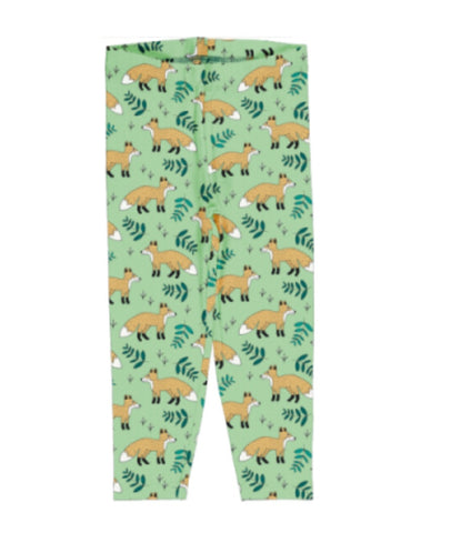 Meyaday Wild Fox Leggings Cropped