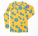 Alba My All Time Favorite Longsleeve Top Bright Gold Flower Power Mummy