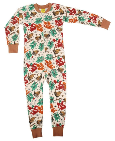 Duns Rowanberry Mother of Pearl Zipsuit