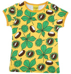 Duns Chestnut Yellow Top Shortsleeve Mummy