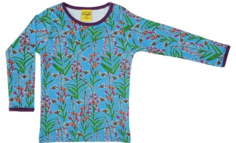 Duns Willowherb Blue Top Longsleeve