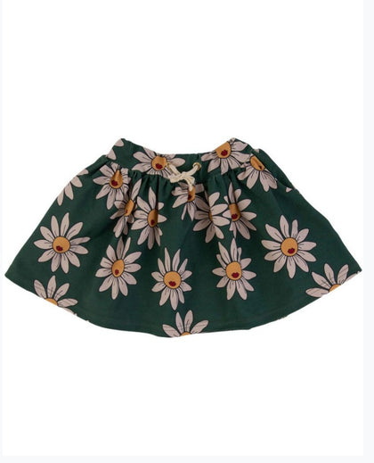 Dear Sophie Green Daisy Skirt