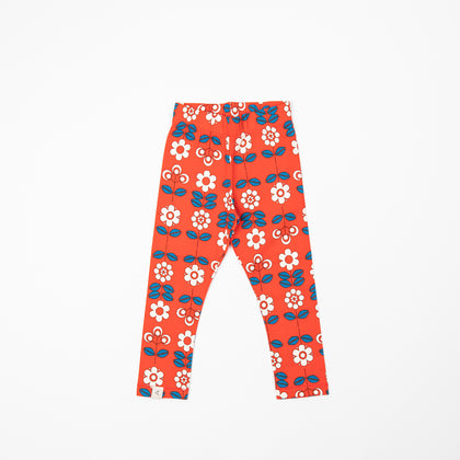 Alba Haniella Leggings Spicy Orange Fairly Tail Flowers