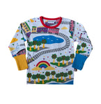 Moromini Peace Train Longsleeve Top