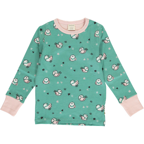 Maxomorra Little Sparrow Top Longsleeve