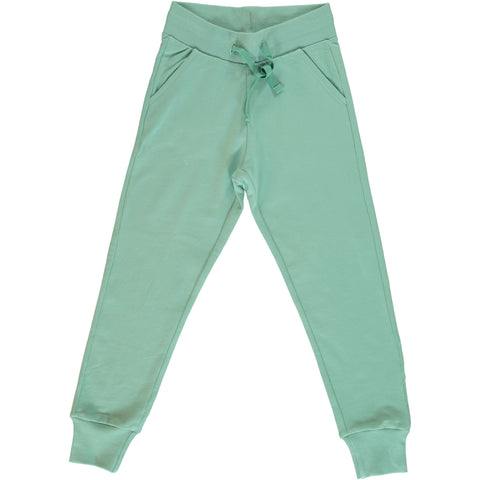 Maxomorra Sweatpants Soft Teal