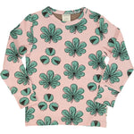 Maxomorra Chesstnut Leaf Top Longsleeve