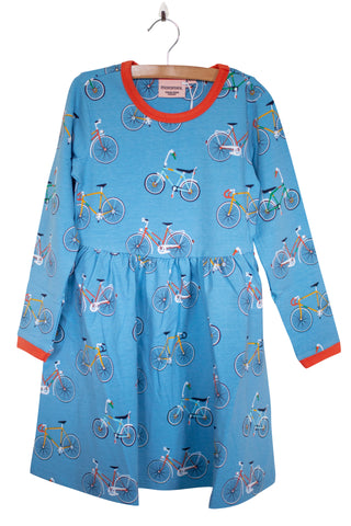 Moromini Bike like a Swede Twirly Dress Longsleeve