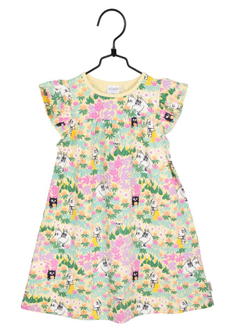 Martinex Moomin in Foliage Dress Yel