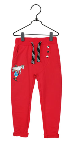 Martinex Pippi Sweatpants Red