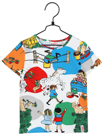 Martinex Pippi Longstocking Villekulla Top Shortsleeve