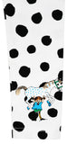 Martinex Pippi Longstocking Speckled Leggings Black White