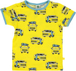 Smafolk Van Yellow Maize T-shirt shortsleeve