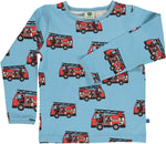 Smafolk Firetruck Air Blue Top Longsleeve