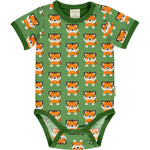 Maxomorra Tangerine Tiger Body Shortsleeve