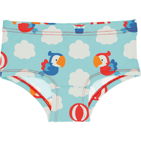 Maxomorra Parrot Safari Brief Hipster