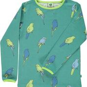 Smafolk Bird Agate Green Longsleeve Top