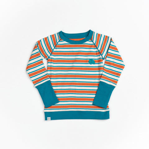 Alba Henric Blouse Rust Magic Striped