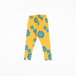 Alba Haniella Leggings Bright Gold Flower Power