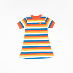 Alba Vida Dress Bright Gold Rainbows