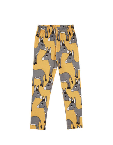 Dear Sophie  Donkey Yellow Leggings