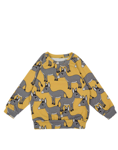 Dear Sophie  Donkey Yellow Top Longsleeve