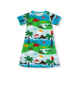 Jny Dolphin Island Dress Shortsleeve