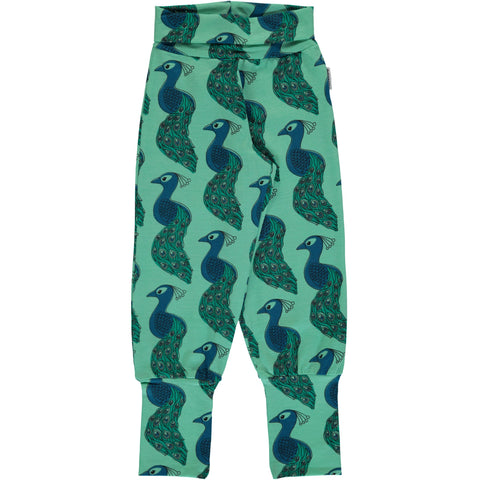 Maxomorra Peacock Ribpants