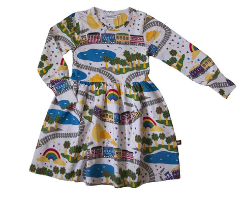 Moromini Peace Train Dress longsleeve