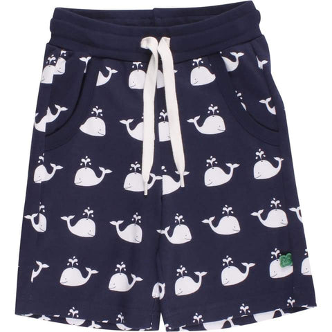 Fred's world by green cotton Sailor Shorts with Whale