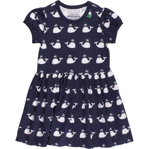Fred's world by Green Cotton Sailor Dress with Whale