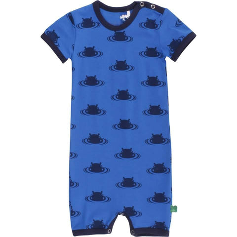 Fred's world by green cotton Hippo beach romper