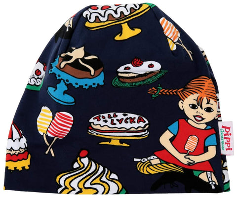 Pippi Longstocking Yummy Beannie Navy