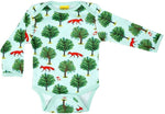 Duns Fox and Tree Jade Longsleeve Body