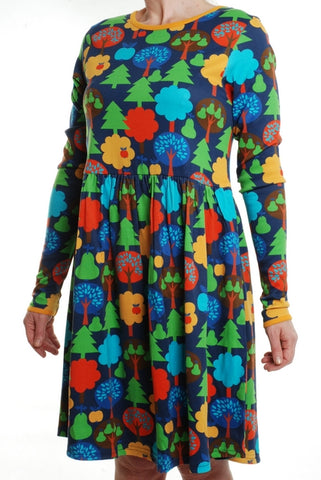 Duns Fruit Garden Adult Dress Longsleeve