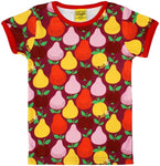 Duns Fruit red shortsleeve tshirt