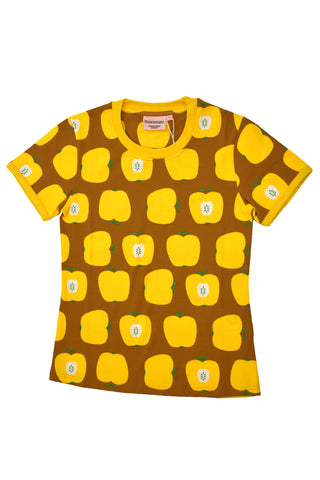Moromini Yellow Apple Top Shortsleeve Mummy