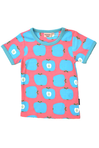 Moromini Blue Apple Top Shortsleeve Mummy