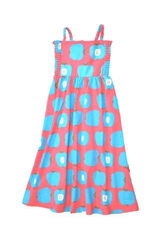 Moromini Blue Apple Sun Dress