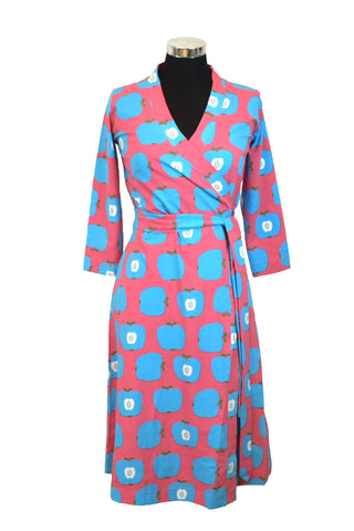 Moromini Blue Apple Dress Wrap Mummy