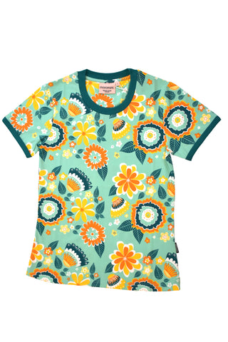 Moromini Mumbai Flower Market Top Shortsleeve Mummy