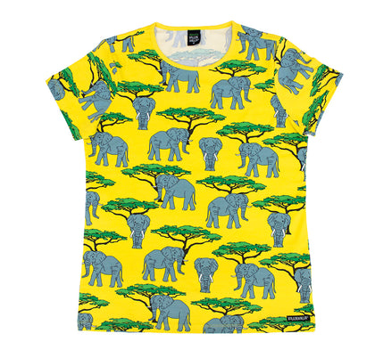 Villervalla Elephant Adult Top Shortsleeve