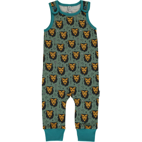 Maxomorra Lion Jungle Playsuit
