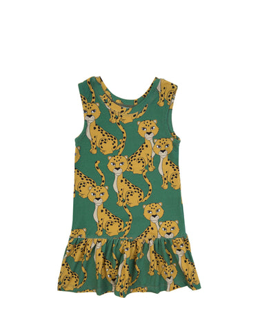 Dear Sophie  Leo Green Dress Sleeveless