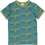 Maxomorra Painted Truck Top Shortsleeve