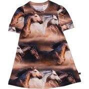 Freds World Horse Photo Print Shortsleeve Dress