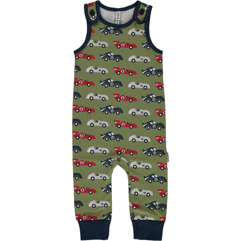 Maxomorra Race Cars Playsuit