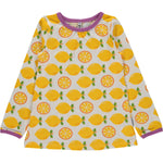Maxomorra Lemon Aline Longsleeve Top