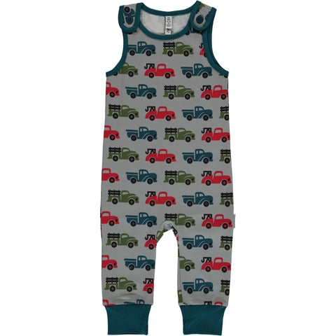 Maxomorra Truck Playsuit